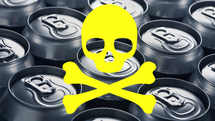 niebezpieczne puszki aluminiowe